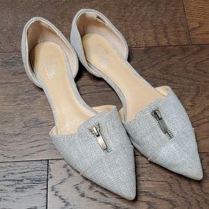 Belle Sigerson Morrison 8 linen point toe flats